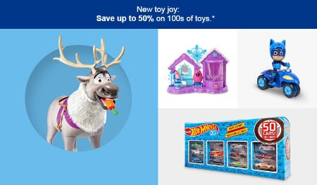Up to 50% Off Toys