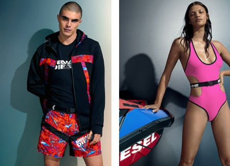 The Iconic Beachwear Capsule from Diesel