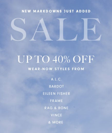 Up to 40% Off New Markdowns from Neiman Marcus