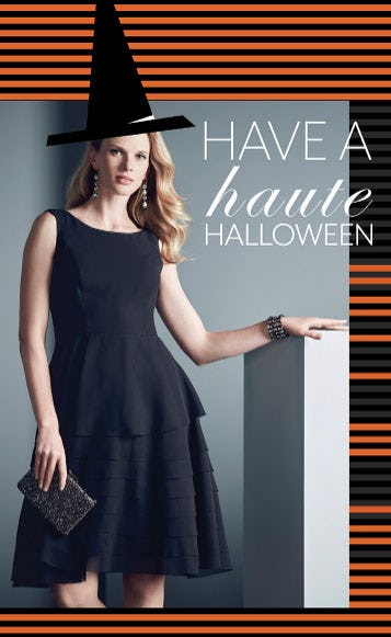Have a Haute Halloween from White House Black Market