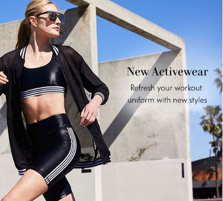 New Activewear from Neiman Marcus