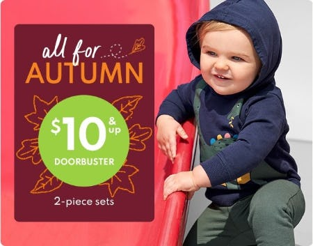 $10 & Up Doorbuster 2-Piece Sets from Carter's