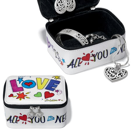 FREE Love Is All You Need Jewelry Case from Brighton Collectibles