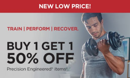 B1G1 50% Off on Select Precision Engineered Items from Vitamin World