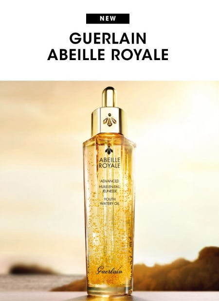 New: Guerlain Abeille Royale from Bloomingdale's