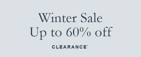 Winter Sale Up to 60% Off from Abercrombie & Fitch