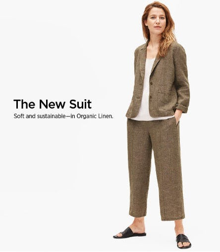 The New Suit from Eileen Fisher