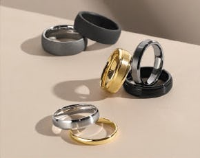 Men's Wedding Bands from Fred Meyer Jewelers