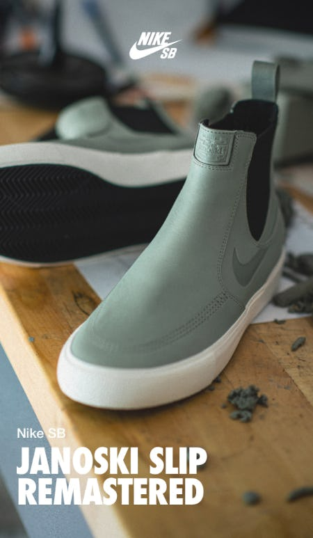 The New Janoski Slip Remastered from Nike