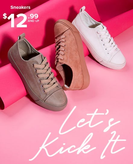 Sneakers From $12.99 and Up from Rainbow