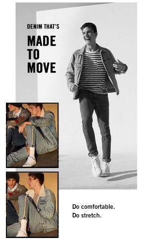 Denim That's Made to Move