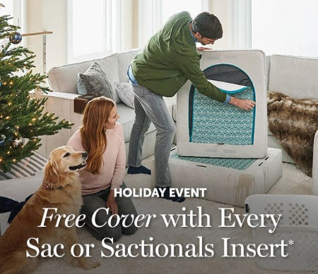 Free Cover with Every Sac or Sactionals Insert