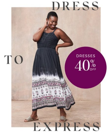 Dresses 40% Off from Lane Bryant