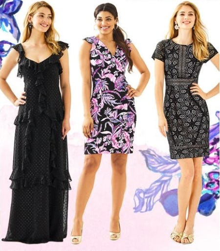 Party Dresses for Now and Later from Lilly Pulitzer