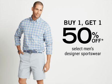 BOGO 50% Off Select Men's Designer Sportswear from Belk