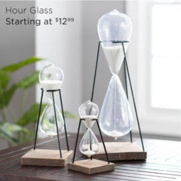 Hour Glass Starting at $12.99 from Kirkland's