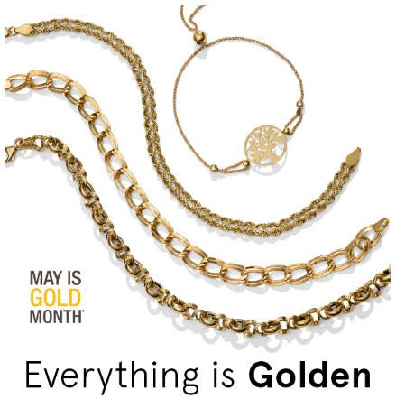 Go Glam This Month With Gold