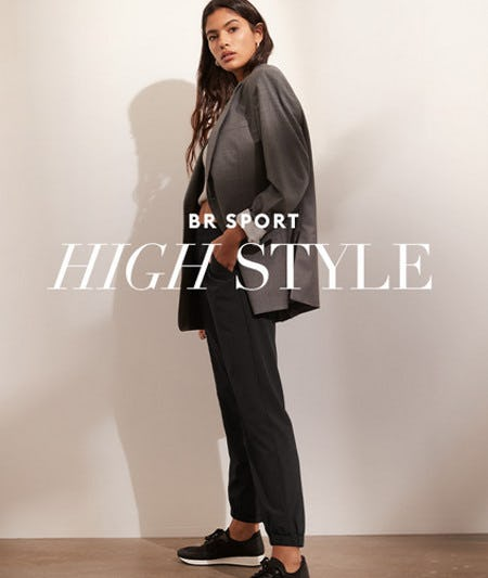 New BR Sport Styles from Banana Republic