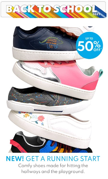 Up to 50% Off Shoes from Carter's