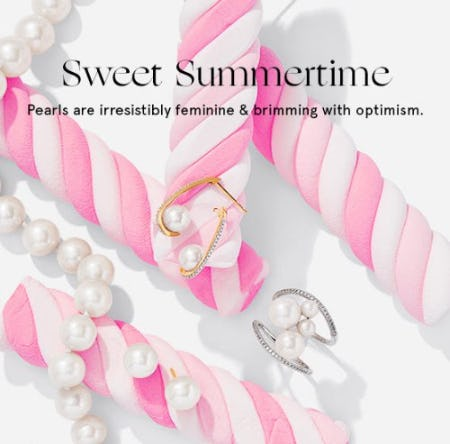 Pearls: Brimming with Optimism & Perfect for Summer from Zales The Diamond Store