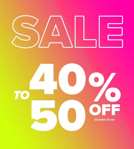40-50% Off Sale from Rainbow