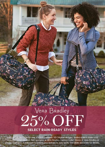 In Case of Weather … from Vera Bradley