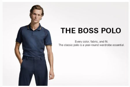 The BOSS Polo from Hugo Boss