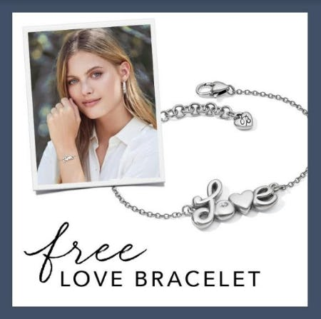 Our Gift To You – Love Letters Bracelet