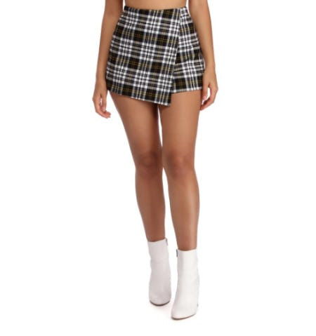 Plaid About You Skort from Windsor