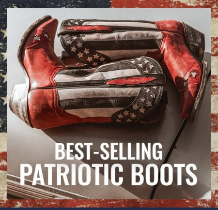 Our Best-Selling Patriotic Boots from Boot Barn Western And Work Wear
