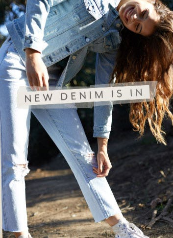 New Denim is In from PacSun