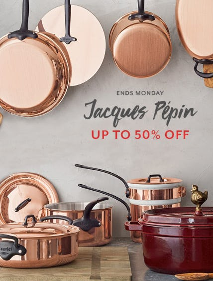 Up to 50% Off Jacques Pépin