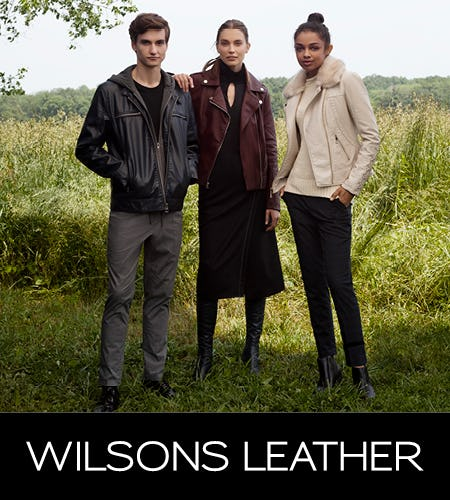 Fall Fashion Event, Up To 80% Off from Wilsons Leather