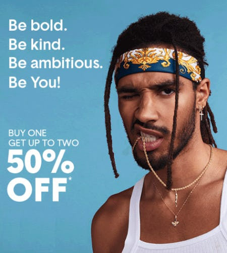 BOGO 50% Off Sale from Piercing Pagoda