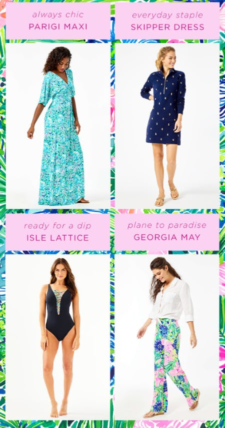 Vacation Must Haves from Lilly Pulitzer