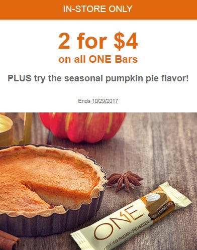 2 For $4 All One Bars