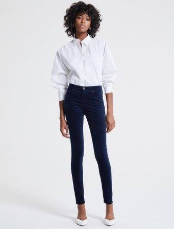 The Farrah in Blue Night from Ag Jeans