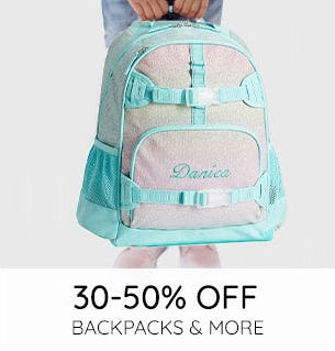 30-50% Off on Backpacks & More from Pottery Barn Kids