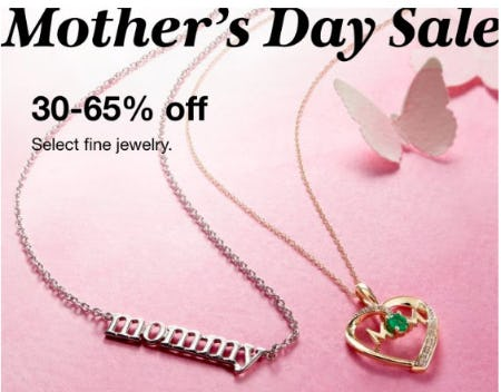 30-65% Off Select Fine Jewelry