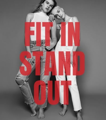 Topshop Denim: Fit In, Stand Out from TOPSHOP