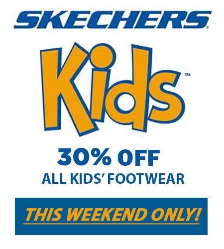 SKECHERS KIDS' WEEKEND SALE from Skechers
