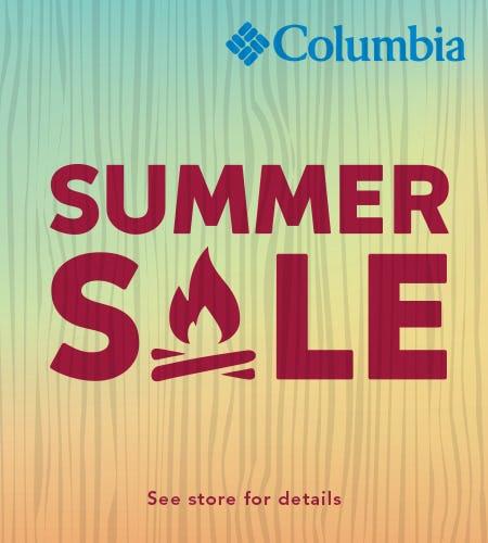 Columbia Sportswear Summer Sale from Columbia
