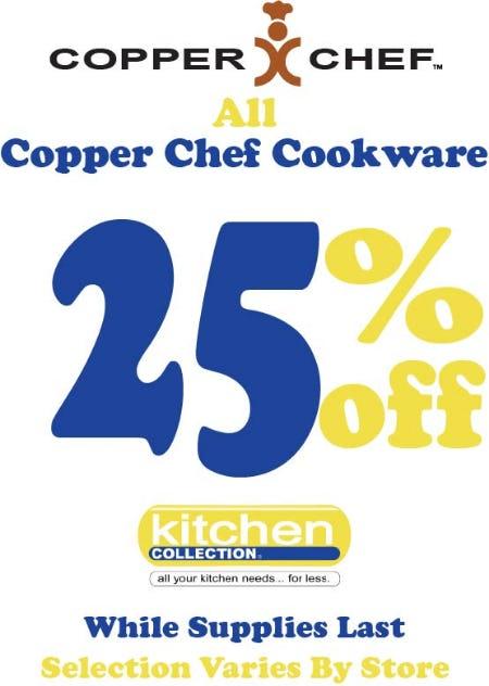Copper Chef Cookware Sale