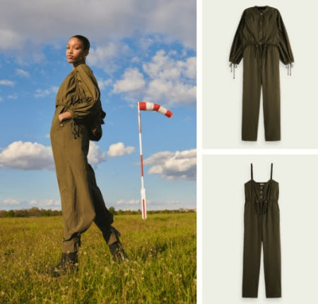 The Multi-Functional Gathered Jumpsuit from Scotch & Soda