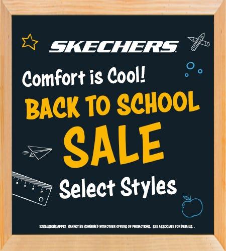 Shop Skechers Back to School Sale