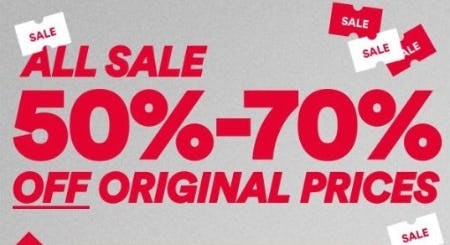 All Sale 50%–70% Off Original Prices from Cotton On