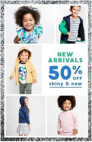 50% Off New Arrivals from Gymboree