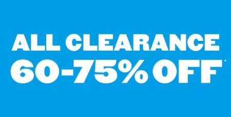 All Clearance 60-75% Off from The Children's Place