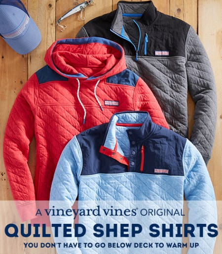 Quilted Shep Shirts