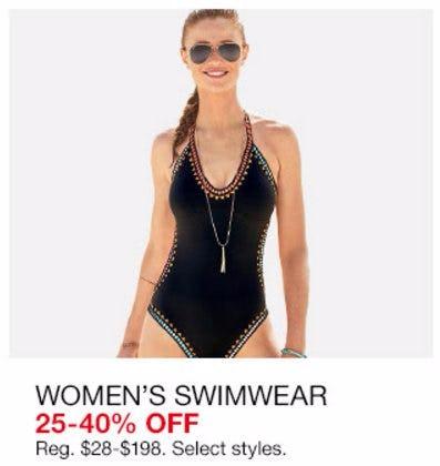 Women's Swimwear 25-40% Off
